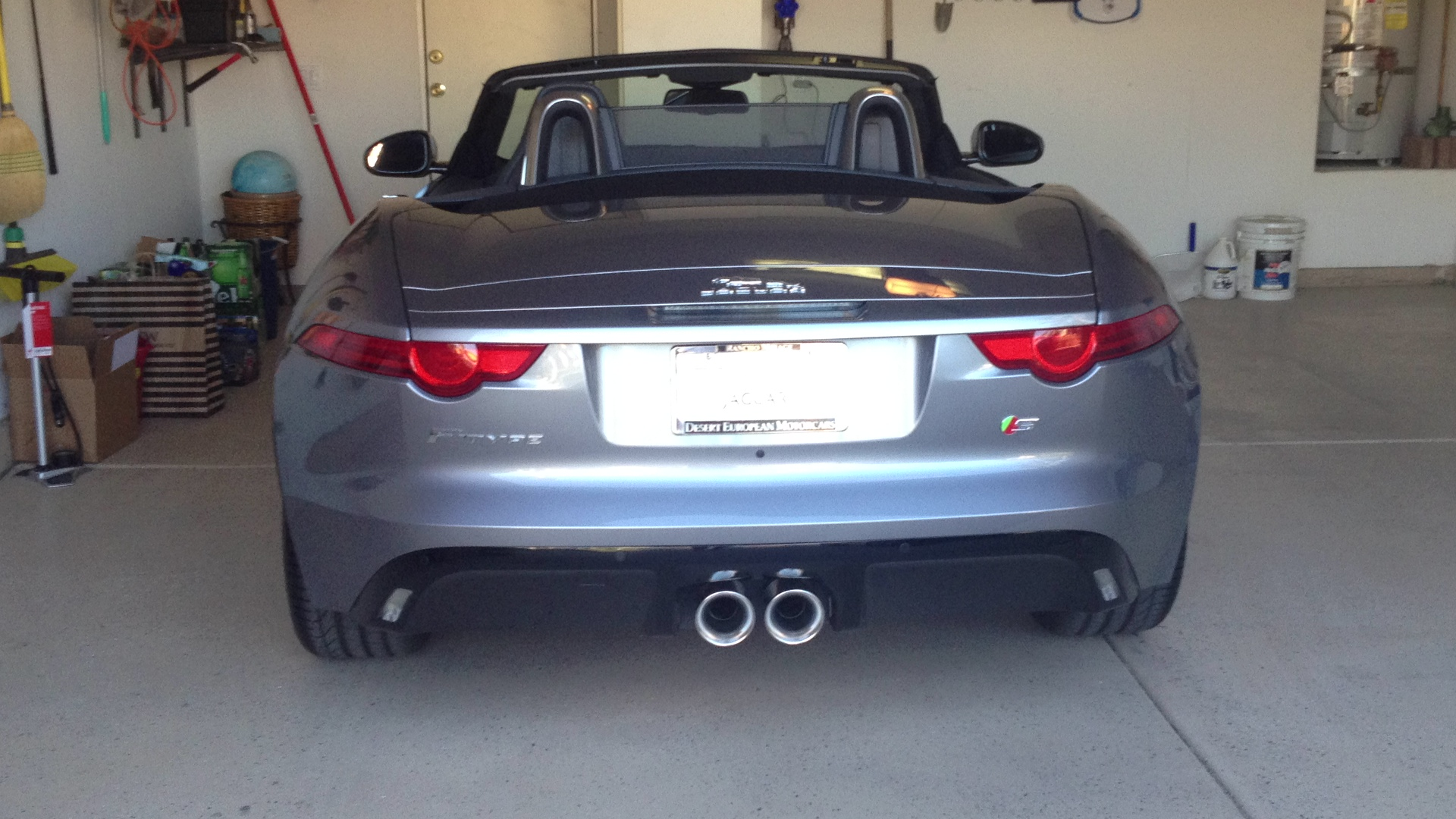 Sexy rear end.
